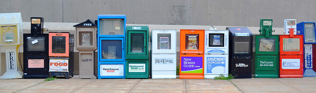 Newspaper Stands Image