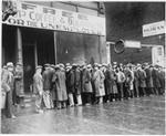 Great Depression, Bread Line