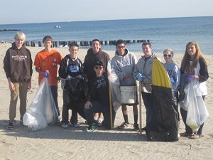 Fall Beach Clean-up