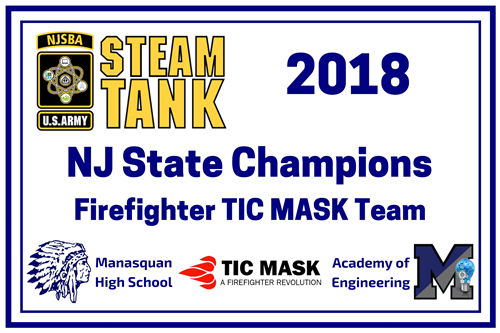 2018 1st Place STEAM TANK Banner
